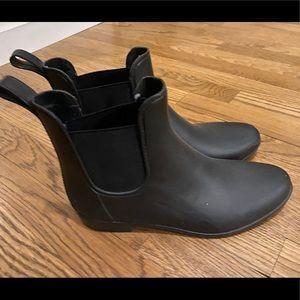 J crew rain boots